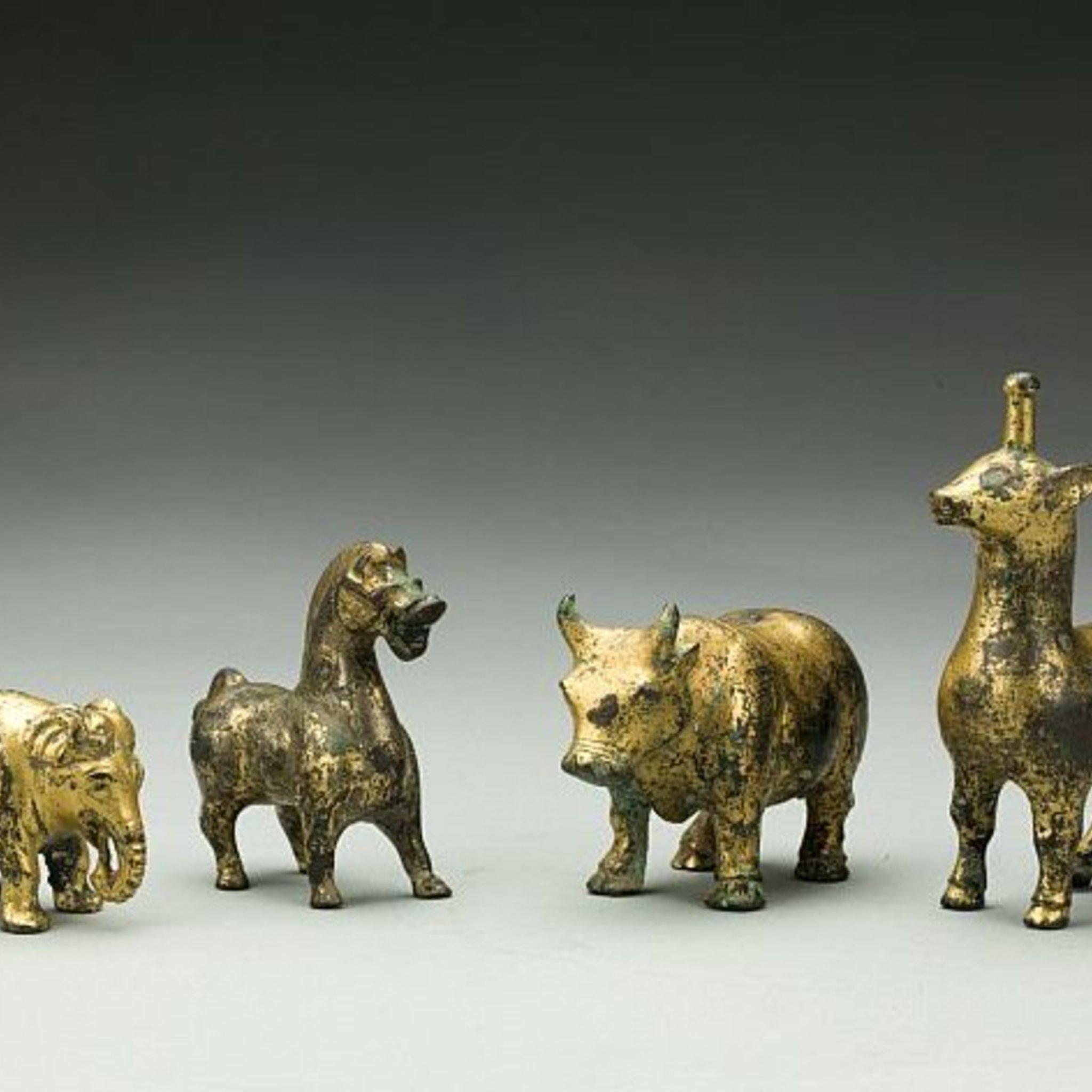 Выставка древнего китайского искусства «Шелковый путь»