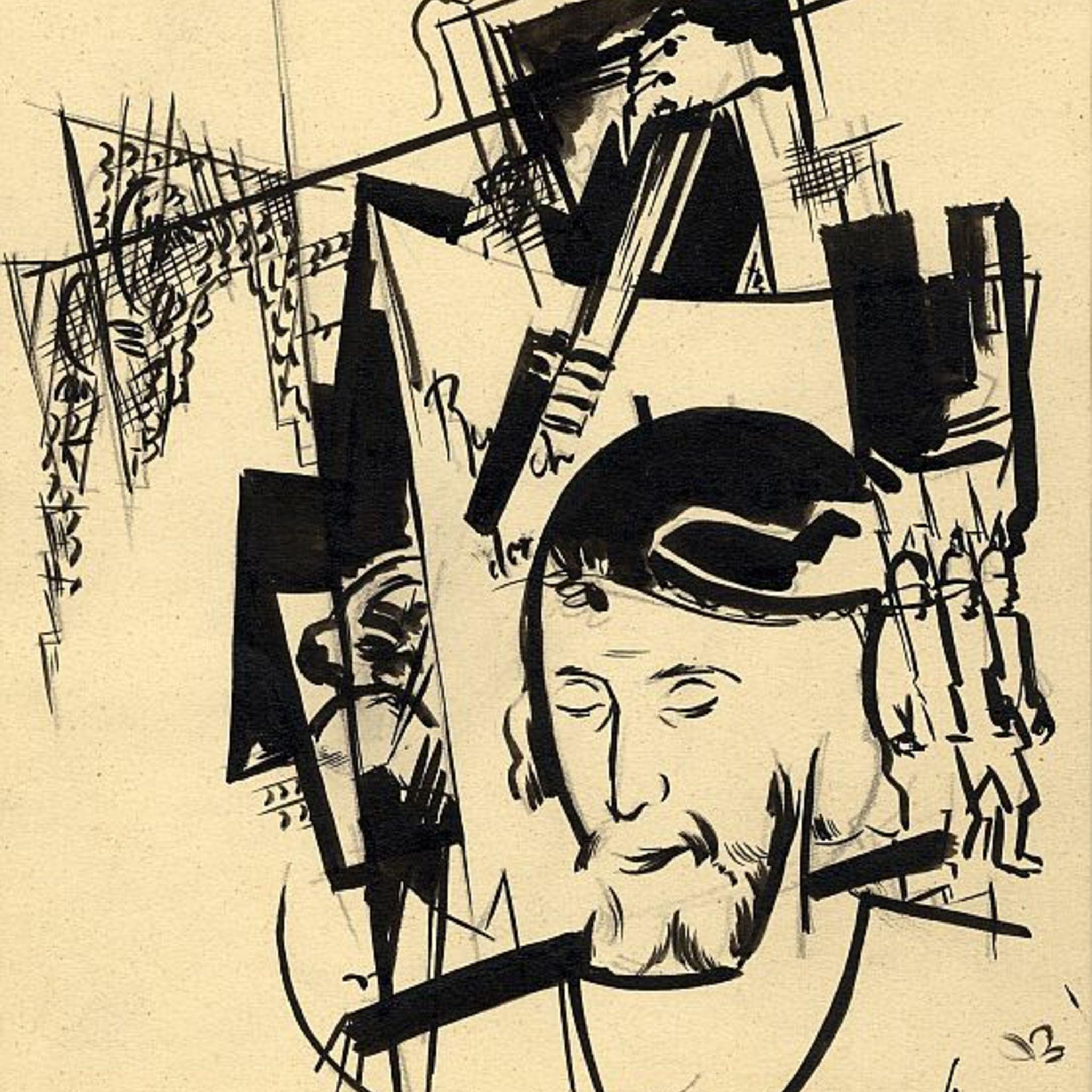 Выставка книжных иллюстраций классика латышского модернизма Романа Суты «От слова к линии»