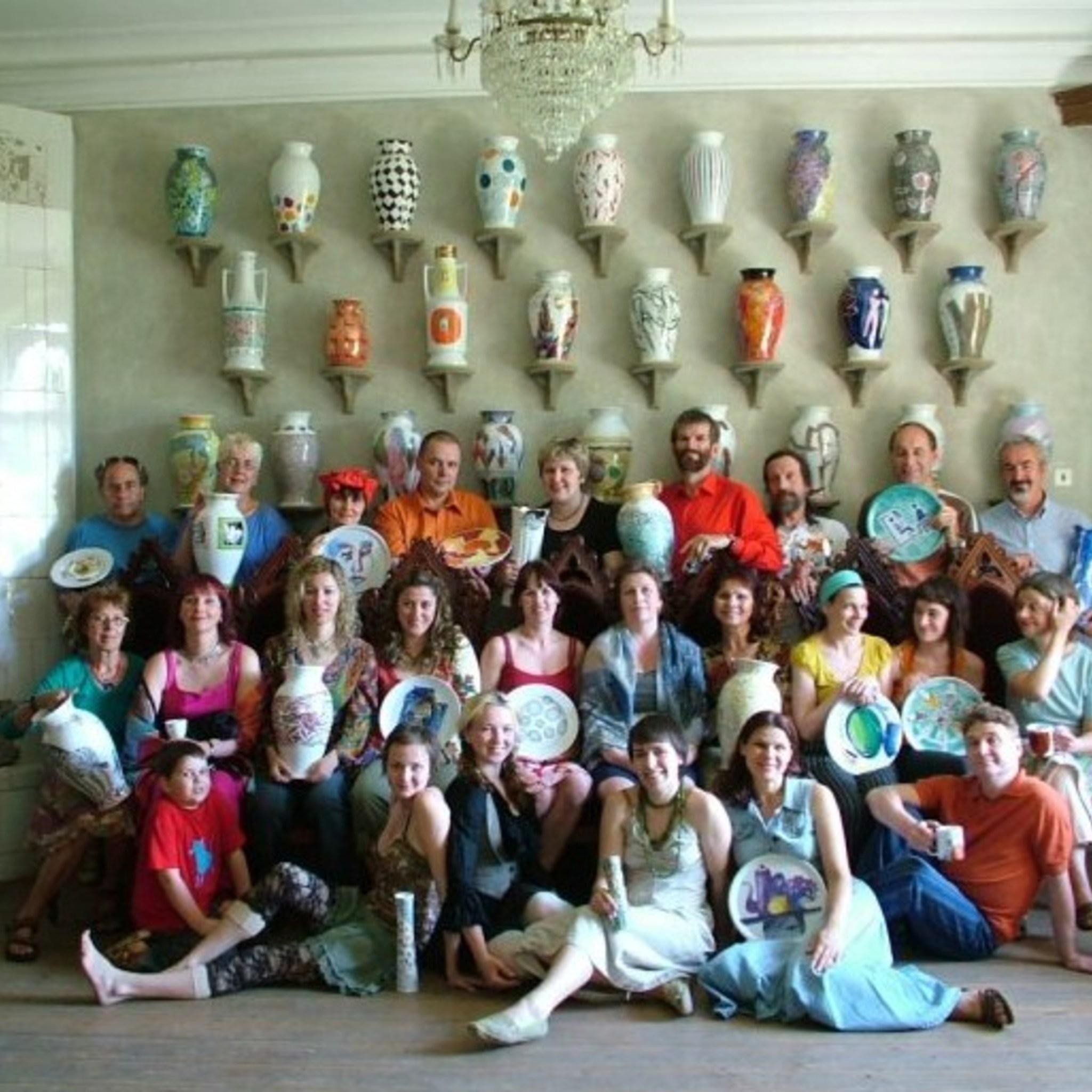Выставка международного симпозиума керамики в Звартаве