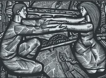 Выставка графики Гунара Кроллиса «Контрастное вещество»