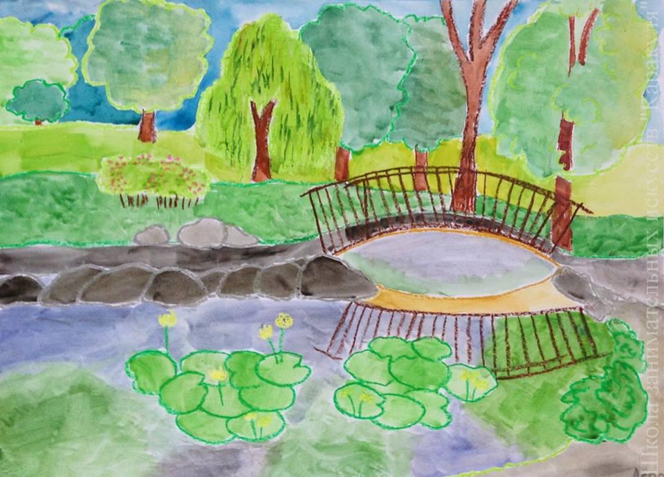 Рисование для деток 4,5 – 6 лет
