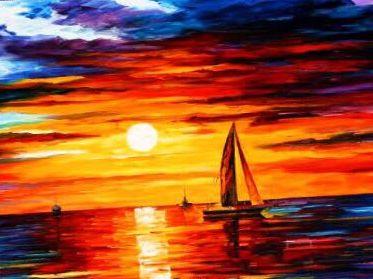 Арт-вечер «Яхта парус»