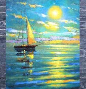 Арт-вечер «Морской закат»