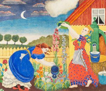 Хильда Вика (1897–1963). Картины, рисунки